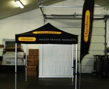 Event tent Clarebout
