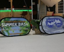 Pop-up banner Summer bash