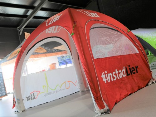 Inflatable tent | Stad Lier