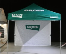 Folding tent  deck chair | Groen