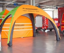 Opblaasbare tent | High Visibility