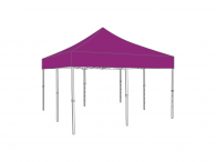 Partyspace Vouwtent 5x5 Set55 PURPLE