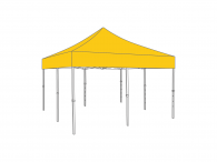 Partyspace Vouwtent 5x5 Set55 YELLOW