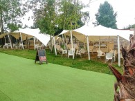 stretchtent proflexx single coated 10x12m creme 2