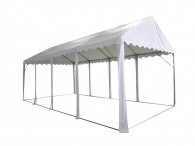 Party tent without sidewalls