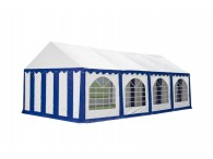 Party tent Premium, 8m length, white blue