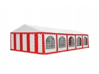 Party tent Premium, 10m length, white red