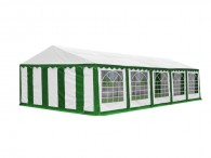 Buizenframetent Classic Plus, 10m length, white green