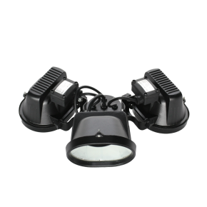 Suspension system with LED light