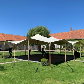 Single coated Stretch tents
