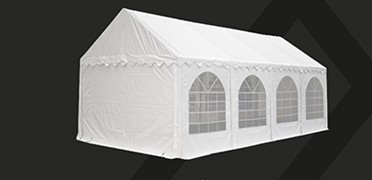 6 reasons why our PVC party tents are more qualitative than other standard party tents