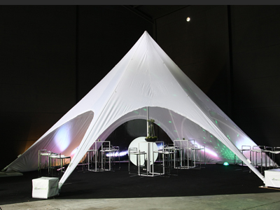 stertent partyspace showroom