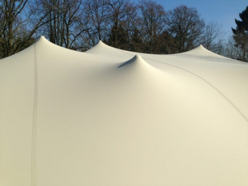 Bonga stretch tent Proflexx singlecoated (450 g/m²) set - 6,5x5m