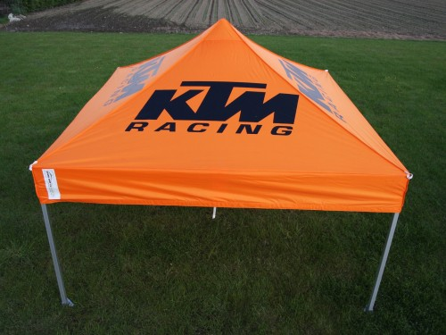 Moto roof Polyester 3x6 m | KTM
