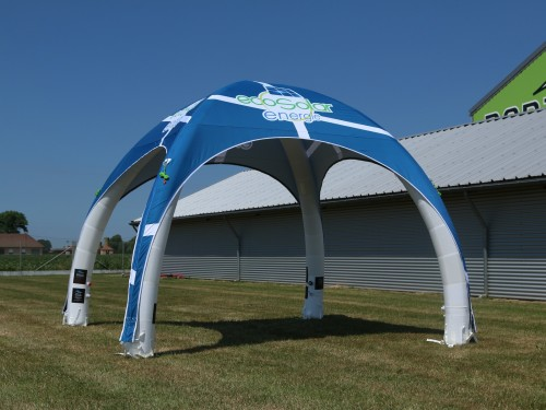 Airspace inflatable tent SET 4x4m