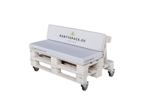 Cushion for Europallet - with fold (seating/back) - polyester