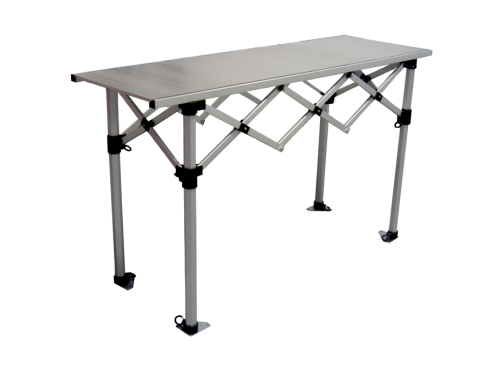 Aluminium folding table - 1,50 m