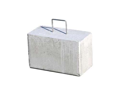 Concrete weight 45kg for tent