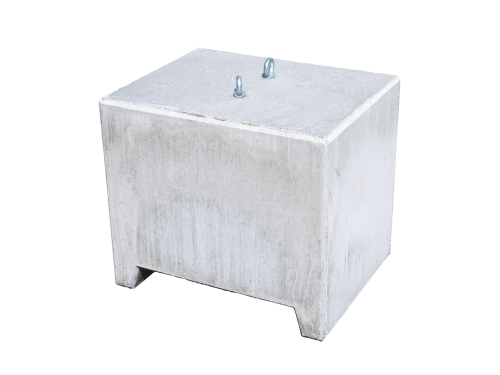 Concrete weight 600kg for tent