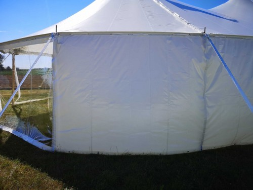 Sailcloth sidewall closed - 2,44 m