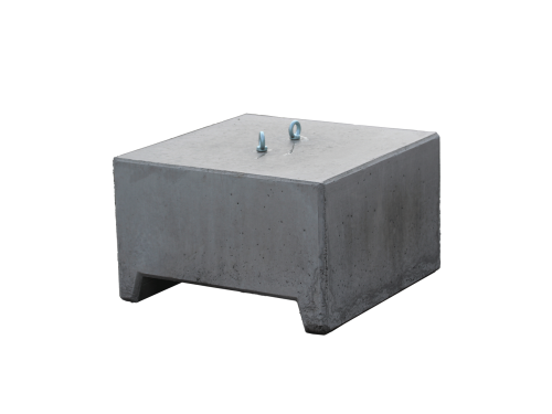 Concrete weight 650kg for tent