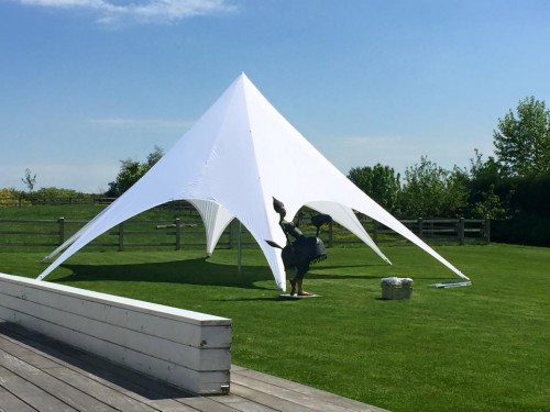 Starspace startent  - hardware+roof  - 10m diameter - Polyester
