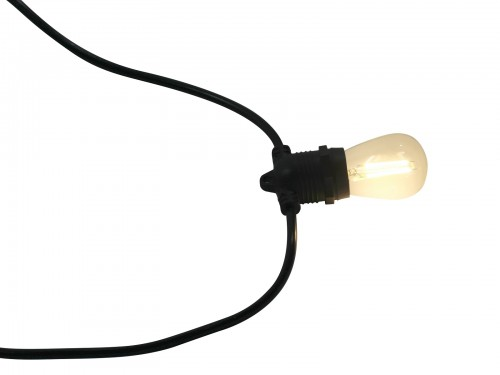 Pakket met 10 LED lampen - Vintage - Warm wit
