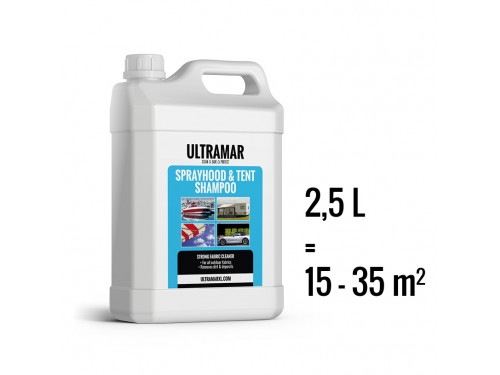 Tent shampoo | 2500 ml | Ultramar