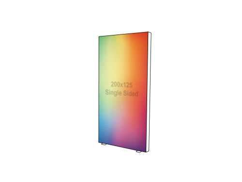 Lightbox - Single sided - 125 x 200 cm