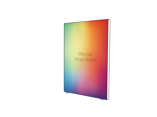 Lightbox - Single sided - 150 x 200 cm