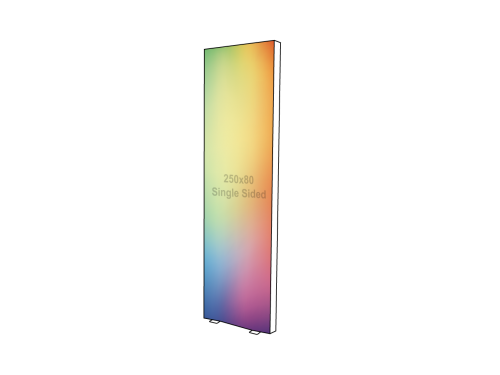 Lightbox - Single sided - 80 x 250 cm