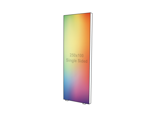 Lightbox - Single sided - 100 x 250 cm