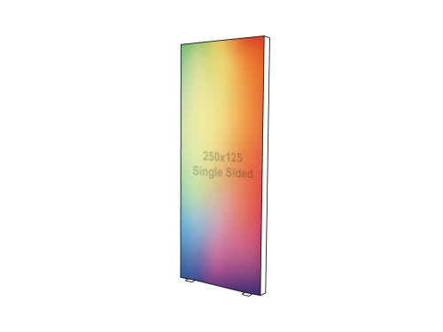 Lightbox - Single sided - 125 x 250 cm