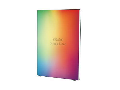 Lightbox - Single sided - 200 x 250 cm