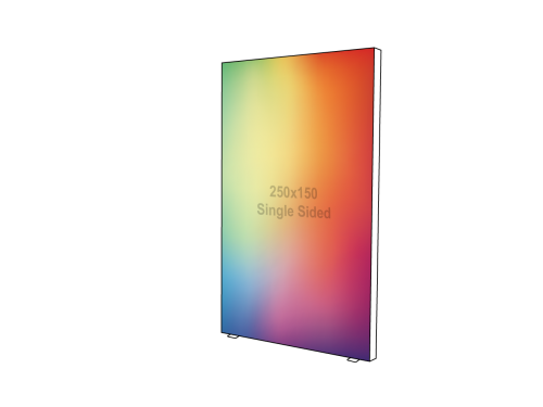 Lightbox - Single sided - 150 x 250 cm