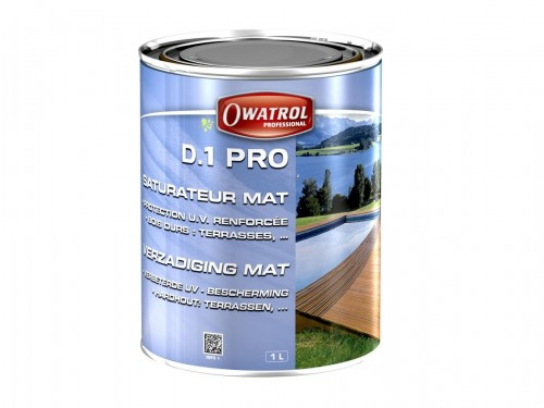 Owatrol wood saturator for exotic wood types - Matt  colourless