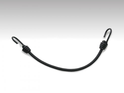 Bungee cord 8mmx400mm with 2 hooks