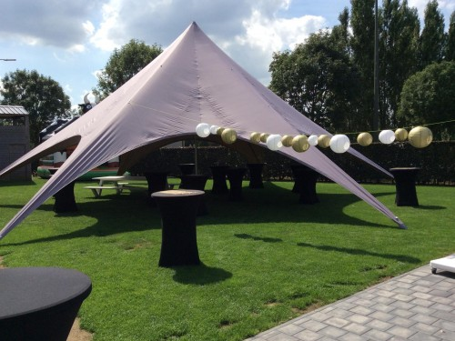 Starspace startent  - hardware+roof  - 14m diameter - Polyester