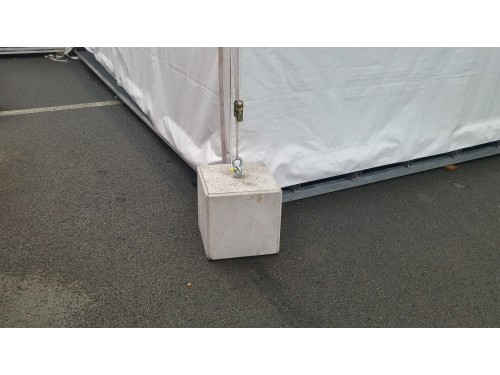 Concrete weight 145kg for tent