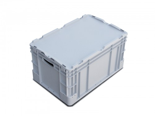 Eurobox with cover - 400x600x300