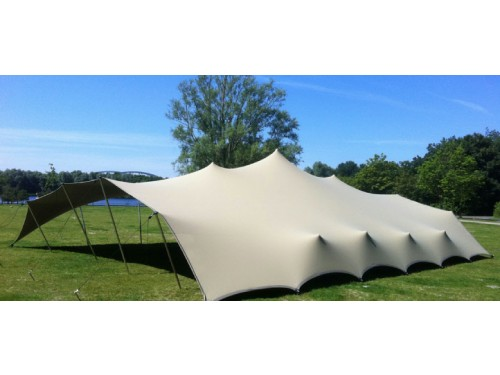 Bonga stretch tent Proflexx singlecoated (450 g/m²) set - 10x12m