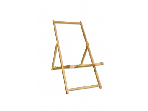 Wooden frame for deck chair