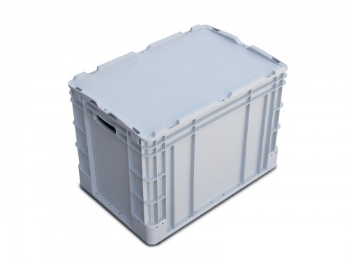 Eurobox with cover - 400x600x400