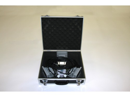 Flightcase 3-LED lichtset 10W