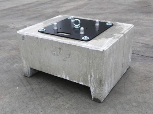 poids en b ton 600kg pour tente partyspace. Black Bedroom Furniture Sets. Home Design Ideas
