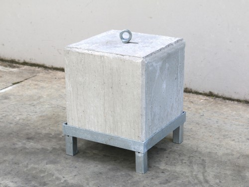 Steel frame for concrete weight 145kg