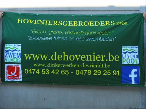 Workfence banner - Polyester
