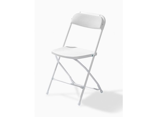 Package of 50 folding chairs - White/White