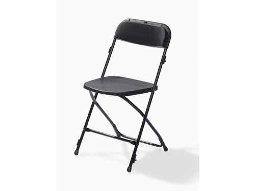 Package of 50 folding chairs - Black/Black