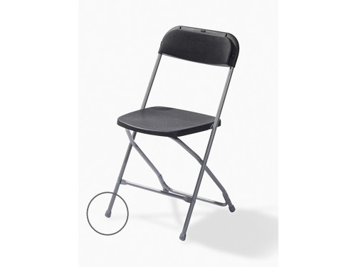 Foot cap for folding chair